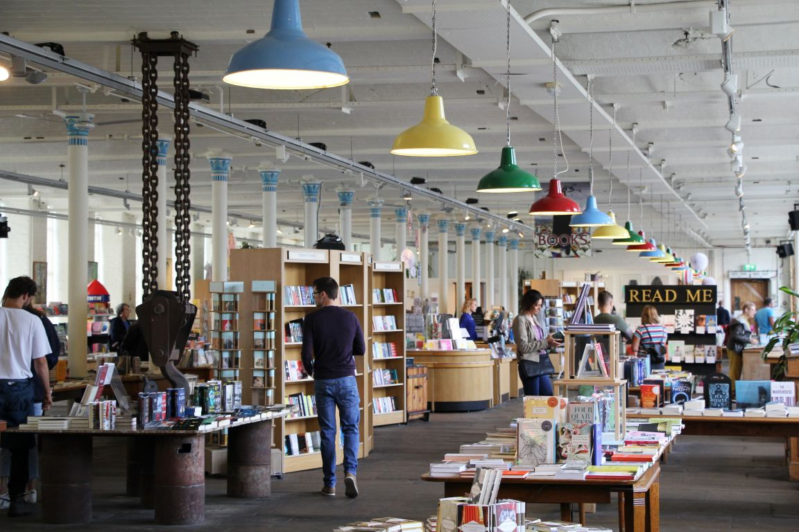 Salts Mill book shop