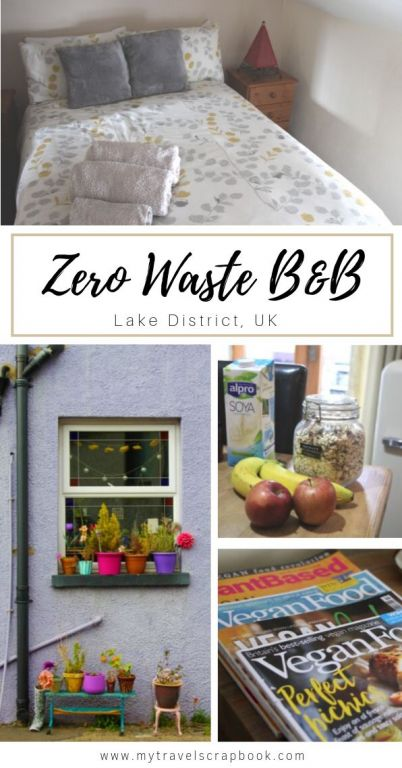 Staying at a vegan and zero-waste B&B in the Lake District! Little Sansook is located in the north of England in Ulverston, Cumbria. Vegans will feel truly spoilt as everything is 100% vegan from the bathroom toiletries to the vegan breakfast. #veganaccommodation #veganb&b #accommodation