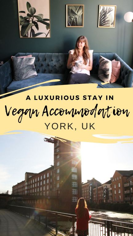 Looking to stay at vegan accommodation in York, UK? There are many wonderful things to do and see in York so why not plan to stay the night? Check out this post to read all about staying at a vegan apartment in the Rowntree Wharf in York. I Should Cocoa is a 100% vegan studio full of ethical coffee in the centre of York.  #york #veganyork #veganaccommodation