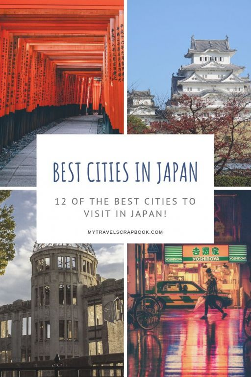 12 of the best cities to visit in Japan! 78% of Japan\'s population live in urban areas. In order to see which cities you should visit during your trip to Japan check out this post. There are 12 incredible cities to add to your Japan iternary! 
