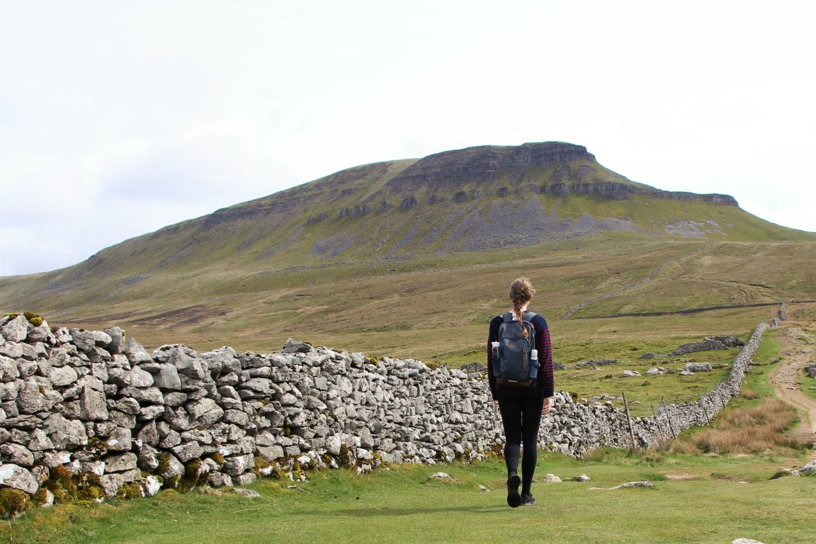 pen y ghent girl hiking