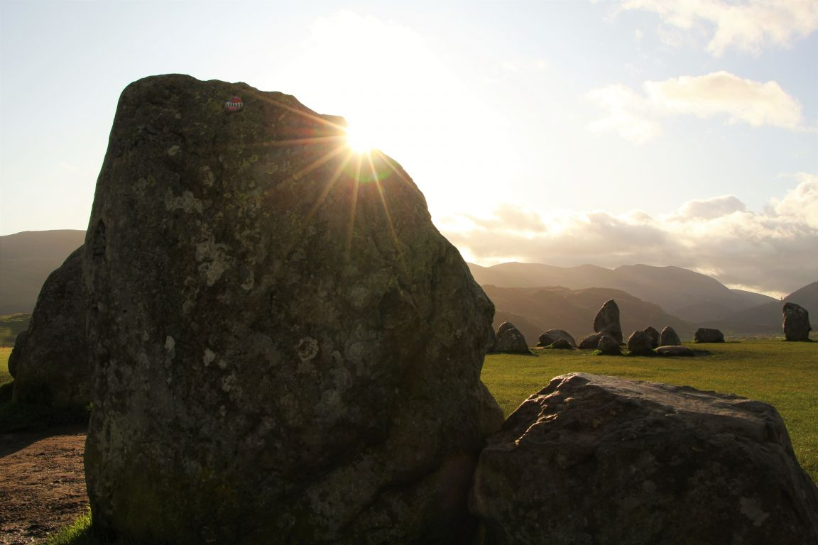 sunrise castlerigg stone circle