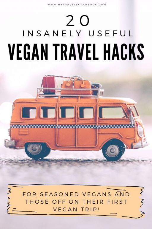 20 insanely useful vegan travel tips! In order to have the best vegan trip ever, check out this vegan travel guide to help you prepare fo ryour next vegan holiday. There are vegan travel tips covering what food to eat, how to communicate, where to find vegan food, where to stay as a vegan and many more. This is the ultimate guide to vegan travel! #vegantravel #veganguide #vegantips