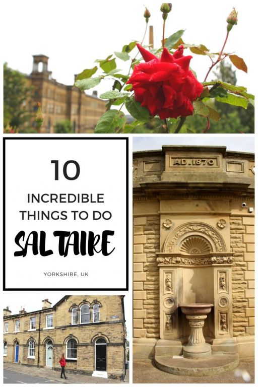 Amazing things to do in Saltaire, West Yorkshire, UK! Saltaire is a UNESCO world heritage site in the North of England. There are many amazing things to do in Saltaire from visiting Salts Mill, strolling through Robert\'s park, taking a boat trip on the canal or visiting some of the quirky shops in Saltaire. What will you want to do when you visit Saltaire? #saltaire