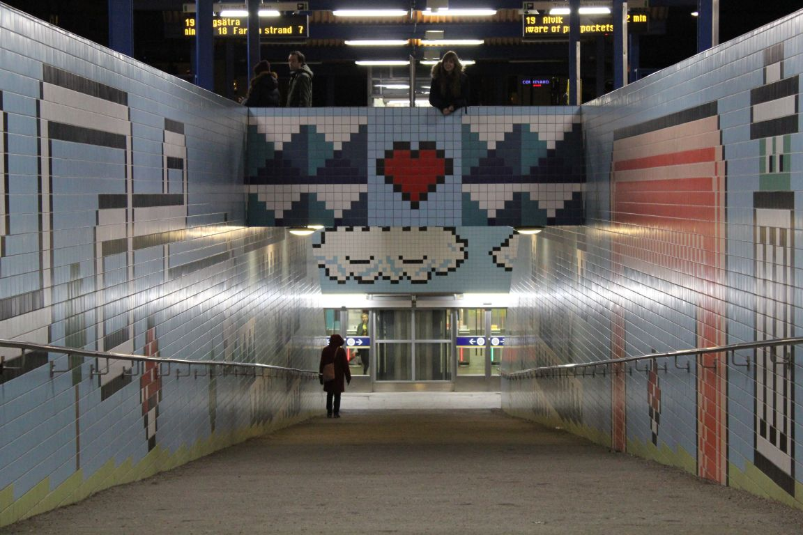 Stockholm Subway Art Self-guided tour