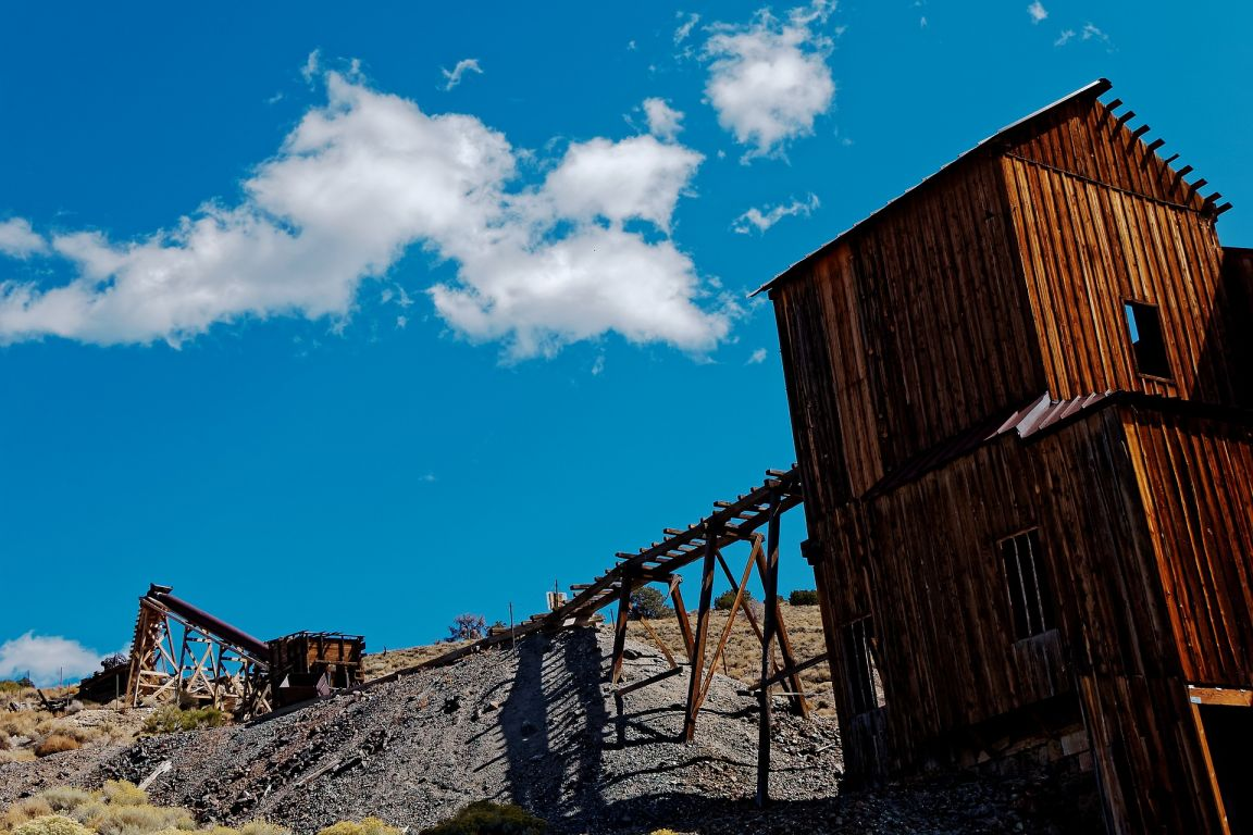 abandoned mine death valley