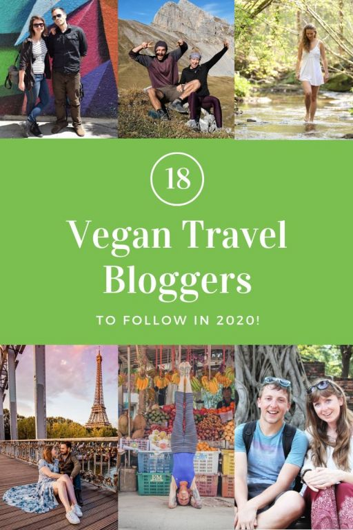 Amazing Vegan Travel Bloggers to follow in 2020! 