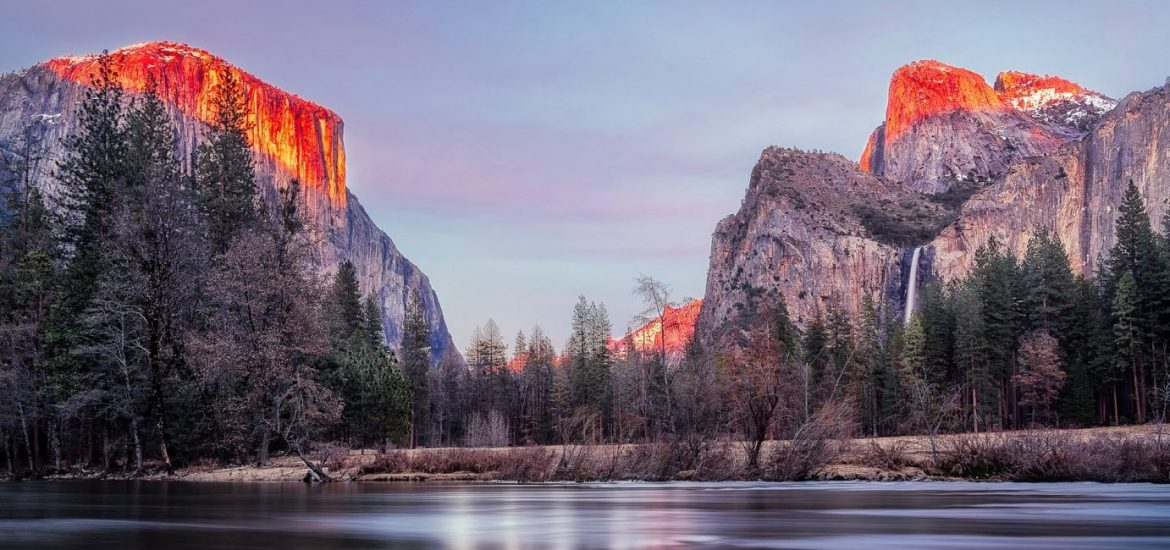 best places yosemite sunset