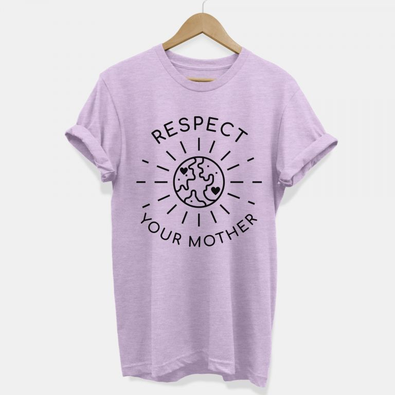 Respect Your Mother Vegan T-shirt