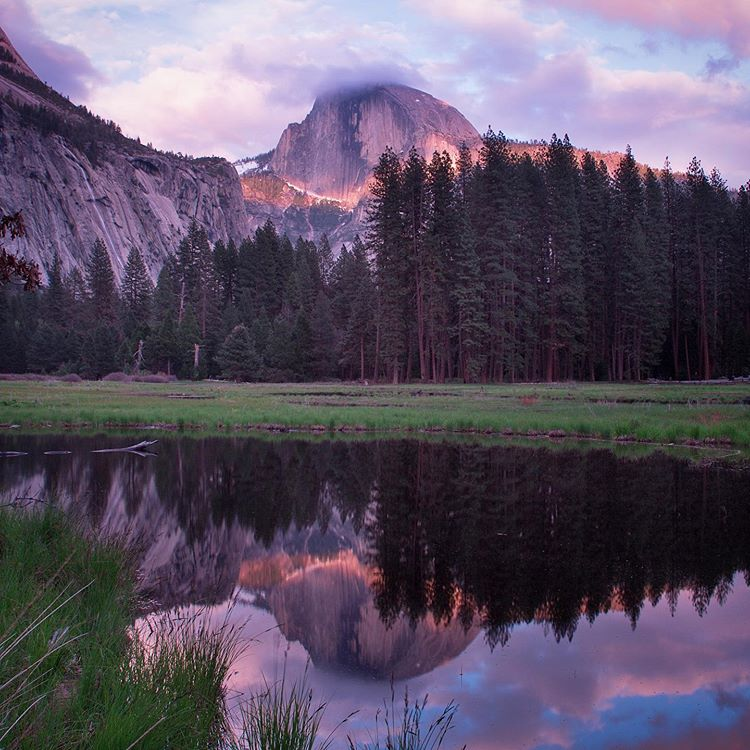 Cooks Meadow Sunset Yosemite Hearne Photography