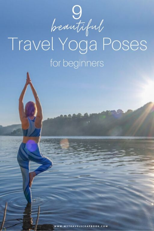 Travel yoga poses to remind you of destinations! Yoga can take us to a calmer place, it can also help to take us to travel destinations! We asked travel bloggers to tell us about a yoga pose that reminds them of a destination. From Tree Pose in Luxembourg to King Dancer in Thailand - here are several beautiful yoga poses that are suitable for beginners to help you travel from your living room! Which yoga pose will transport you on a journey? #yoga #travel