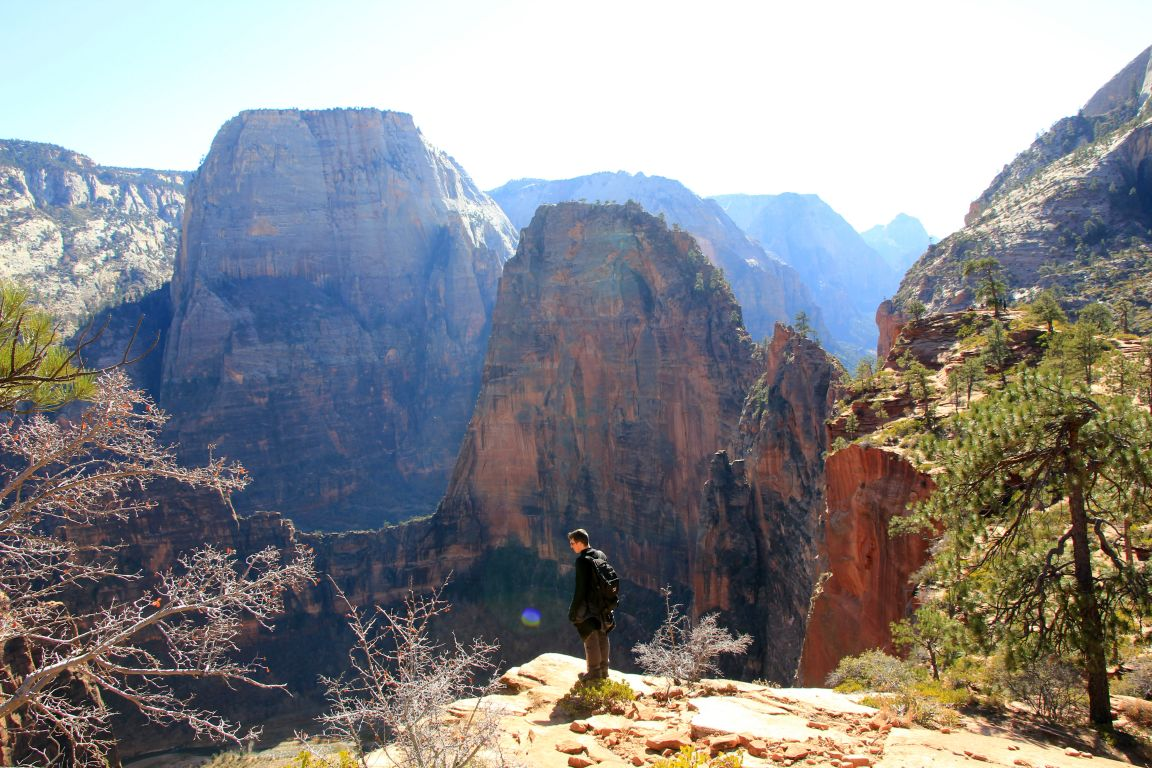 angels landing from above