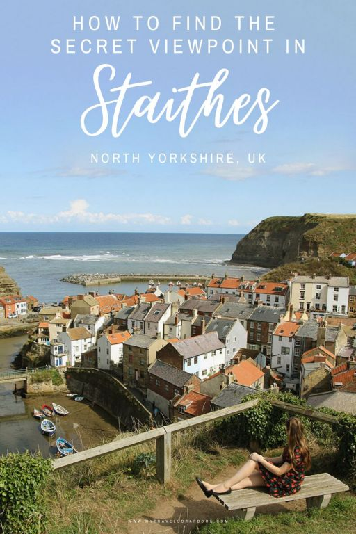 Staithes is a sleepy coastal village tucked away in the North Yorkshire Moors National Park. This idyllic place is full of beautiful things to see. Click on this post to see why you must visit this pretty fishing village on the North Sea. #staithes #yorkshire #england