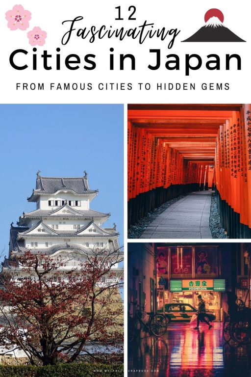 12 of the best cities to visit in Japan! 78% of Japan\'s population live in urban areas. In order to see which cities you should visit during your trip to Japan check out this post. There are 12 incredible cities to add to your Japan iternary!  #japan #city #urban