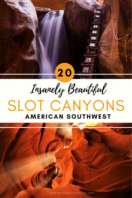 Best slot canyons in the American southwest! Looking for a slot canyon in Arizona or a slot canyon in Utah or even a slot canyon in Nevada? Well here is a list of the best slot canyons in the American southwest. Of course Antelope canyon made it onto the list but so did many antelope canyon alternatives such as peek-a-boo slot canyon and wire pass slot canyon. Furthermore there are tips for hiking in slot canyons and many other lesser known slot canyons!
