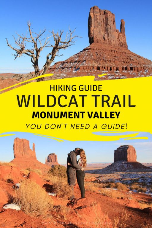 The best hike in Monument Valley - Wildcat trail! This is the only hike in Monument Valley you can do without a guide and it is a wonderful trail in the American Southwest. It is quite an easy hike but takes you round some of the most iconic Monument Valley scenery such as West Mitten Butte. Click here for the ultimate guide to wildcat trail hike in Monument Valley! See why this is a great hike in Monument Valley that you can do without a guide! #monumentvalley #hiking #americansouthwest