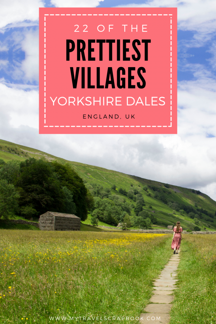 22 of the best Yorkshire Dales villages! The Yorkshire Dales is full of beautiful villages to visit. From the white washed cottages of the pretty village of Dent to iconic villages used as film sets such as Grassington & Kettlewell. Use this list of the prettiest villages in the Yorkshire Dales to help you plan your trip in Yorkshire! You could stop off and look at all the villages in Wharfedale or use it to find lesser known ones such as Stone House. #yorkshiredales #villages